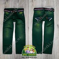 Джинсы зеленые для мальчика 2 года