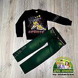 Джинсы зеленые для мальчика 2 года, фото 3