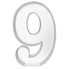 Цифра 9 самосборная для аэромозайки (1,2м)