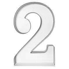 Цифра 2 самосборная для аэромозайки (1,2м)