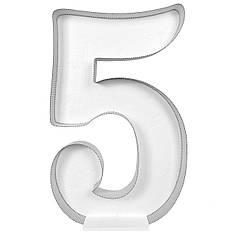 Цифра 5 самосборная для аэромозайки (1,2м)