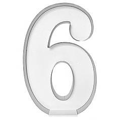 Цифра 6 самосборная для аэромозайки (1,2м)
