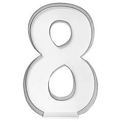 Цифра 8 самосборная для аэромозайки (1,2м)