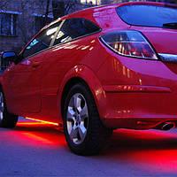 LED подсветка днища—многоцветная,на пульте!