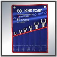 Набір ключів розрізних (силових) дюймові 6 од. KING TONY 1306SR