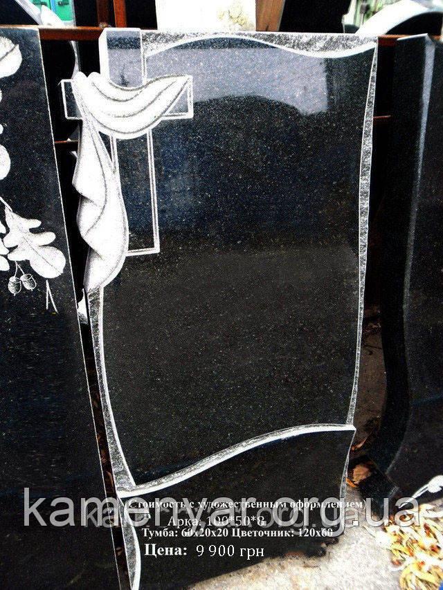 Памятник на могилу с оформлением
