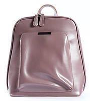 Жіночий шкіряний рюкзак-трансформер в рожевому кольорі Tiding Bag - 26767, фото 2