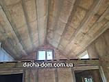 Каркасний будиночок для дачі 6,40*9,40 з двома терасами, фото 7