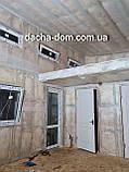 Каркасний будиночок для дачі 6,40*9,40 з двома терасами, фото 4