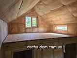 Каркасний будиночок для дачі 6,40*9,40 з двома терасами, фото 9