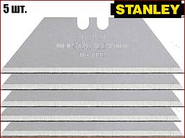 Лезвия для ножей трапеция 51х0.43 мм 5 шт Stanley 0-11-911