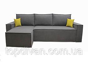 """Угловой диван """"Марио"""" (ткань 1 Simple) Габариты: 2,85 х 1,60  Спальное место: 2,43 х 1,58"""