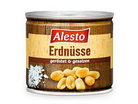 Арахис соленый ALESTO Erdnüsse geröstet & gesalzen 200 г.