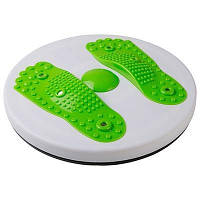 Диск здоров'я World Sport магнітний з масажем стоп зелений