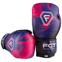 Боксерские перчатки  FGT Flex фиолетовые 6oz FT-0175/65