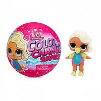 Ігровий набір з лялькою L.O.L. Surprise! серії Color Change - Сюрприз дівчинки, фото 1