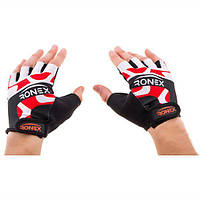 Перчатки атлетические красные Ronex RLF-501, размер XS