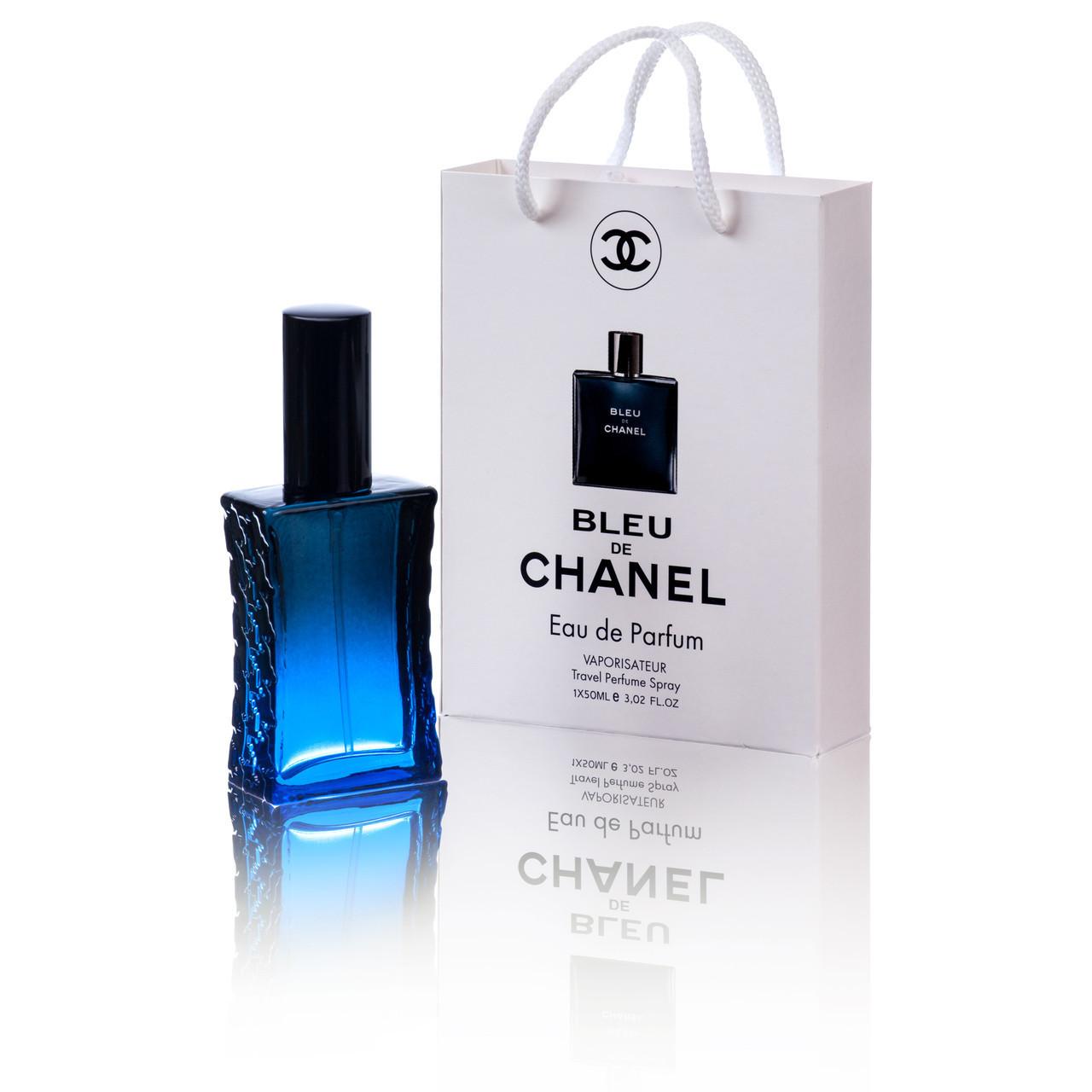 Парфюм для мужчин Chanel Bleu de Chanel в подарочной упаковке 50 мл(Шанель Блю Де Шанель)