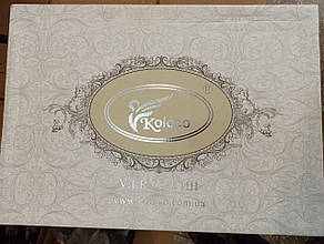 Постільна білизна Koloco страйп-сатин євро розмір, фото 3