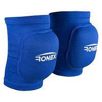 Наколінник волейбольний Ronex RX-075, синій, р. M (2 шт.)