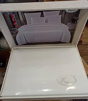 Постільна білизна Koloco страйп-сатин євро розмір, фото 2