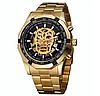 Часы механические Winner Skeleton Gold 2