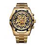 Часы с автоподзаводом Winner Skeleton Gold 2-1
