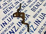 Кронштейн глушника задній лівий Mercedes W212 A2124923441, фото 2