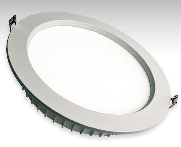 Светодиодный светильник встраиваемый форма круг