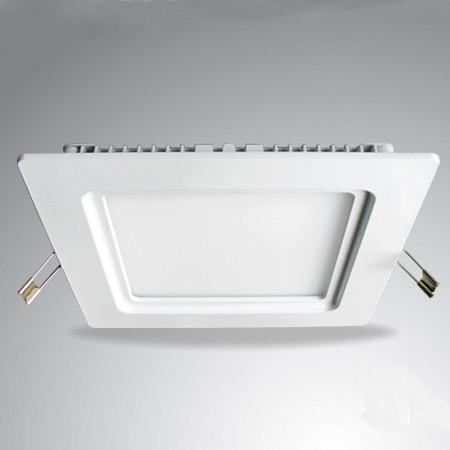 Светодиодный светильник встраиваемый форма квадрат