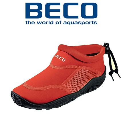 Аквашузы, коралки, обувь для дайвинга, серфинга и плавания, детские BECO 92171 5, красный, фото 2