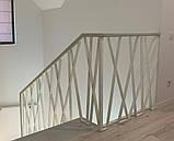 """Огорожа для сходів в сучасному стилі """"Лофт, Хай-Тек, Мінімалізм"""", фото 3"""