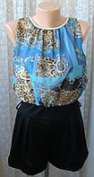 Комбинезон женский летний нарядный шорты бренд Ayanapa р.46-48 5170