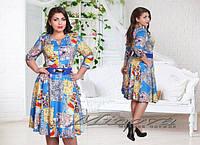 """Платье """"Скарлет"""" И №7115,размеры 48-56"""