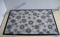 Ковер грязезащитный Снежинки, 60х90см., серый светлый