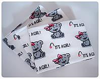 Байковые пеленки в роддом для новорожденных, фото 1