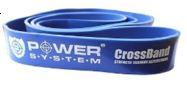 Резинка для Crossfit синяя Power System шириной 45мм
