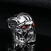 """Кольцо мужское """"ТЕРМИНАТОР Т-800"""", сталь 316L"""