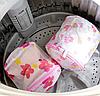 Контейнер сетка для стирки бюстгальтеров, колгот, шарфиков и других деликатных вещей, фото 4