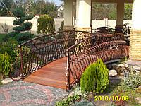 Сделать деревянный мостик