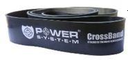 Резинка для Crossfit черная Power System шириной 64мм