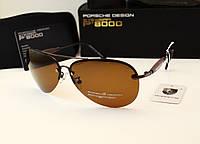 Мужские солнцезащитные очки Porsche Design 8548 коричневый цвет, фото 1