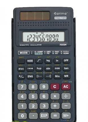 Калькулятор инженерный 10+2 разрядов, Optima O75524
