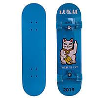 Скейтборд LUKAI SK-1245-4 синий