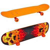 Скейтборд SP-Sport SK-5615 цвета в ассорт., Оранжевый