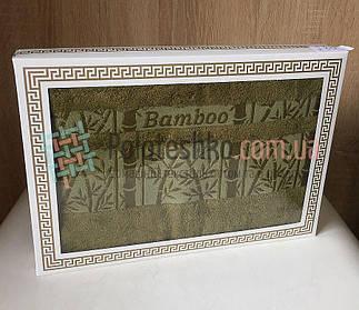 Бамбуковое полотенце в коробке