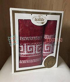 Подарочный набор махровых Турецких полотенец