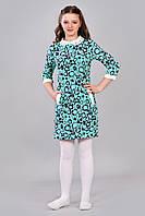 Прикольное детское платье в круги