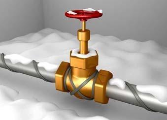 Антиобледенение и снеготаяние. обогрев трубопроводов