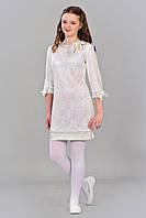 Нарядное гипюровое платье для девочки